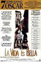 La vita è bella - Spanish Movie Poster (xs thumbnail)
