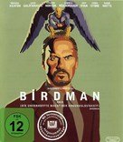 Birdman or (The Unexpected Virtue of Ignorance) - German Blu-Ray movie cover (xs thumbnail)
