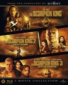 The Scorpion King - Dutch Blu-Ray movie cover (xs thumbnail)