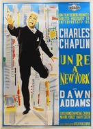 A King in New York - Italian Movie Poster (xs thumbnail)