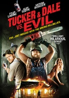 Tucker and Dale vs Evil - DVD movie cover (xs thumbnail)