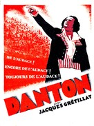 Danton - French Movie Poster (xs thumbnail)