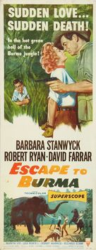 Escape to Burma - Movie Poster (xs thumbnail)