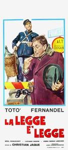 La legge è legge - Italian Movie Poster (xs thumbnail)