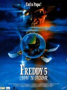 A Nightmare on Elm Street: The Dream Child - French Movie Poster (xs thumbnail)