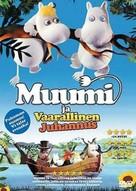 Muumi ja vaarallinen juhannus - Finnish DVD cover (xs thumbnail)