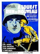 All Quiet on the Western Front - French Movie Poster (xs thumbnail)