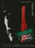 The Ipcress File - German Movie Poster (xs thumbnail)