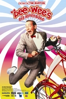 Pee-wee's Big Adventure - French Movie Poster (xs thumbnail)