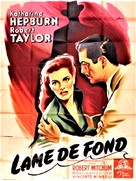 Undercurrent - French Movie Poster (xs thumbnail)