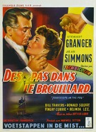 Footsteps in the Fog - Belgian Movie Poster (xs thumbnail)