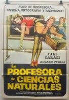 La professoressa di scienze naturali - Spanish Movie Poster (xs thumbnail)