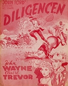 Stagecoach - Danish Movie Poster (xs thumbnail)
