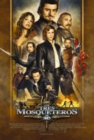 The Three Musketeers - Uruguayan Movie Poster (xs thumbnail)