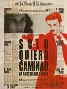 Sólo quiero caminar - Spanish Movie Poster (xs thumbnail)