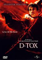 D Tox - Argentinian DVD movie cover (xs thumbnail)