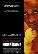 The Hurricane - German Movie Poster (xs thumbnail)
