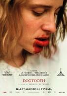 Kynodontas - Italian Movie Poster (xs thumbnail)