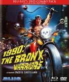 1990: I guerrieri del Bronx - Blu-Ray cover (xs thumbnail)