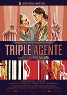 Triple agent - Spanish Movie Poster (xs thumbnail)