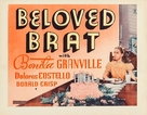 The Beloved Brat - Movie Poster (xs thumbnail)