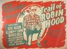 Trail of Robin Hood - British Movie Poster (xs thumbnail)