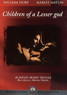 Children of a Lesser God - DVD movie cover (xs thumbnail)