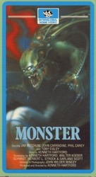 Monster - Dutch VHS movie cover (xs thumbnail)