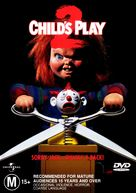 Child's Play 2 - Australian DVD movie cover (xs thumbnail)