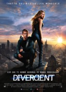 Divergent - Italian Movie Poster (xs thumbnail)