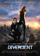 Divergent - Italian Movie Poster (xs thumbnail)