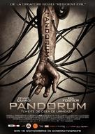Pandorum - Romanian Movie Poster (xs thumbnail)