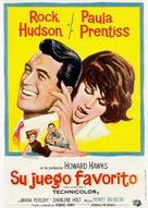 Man's Favorite Sport? - Spanish Movie Poster (xs thumbnail)