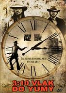 3:10 to Yuma - Czech DVD cover (xs thumbnail)