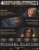 Michael Clayton - For your consideration poster (xs thumbnail)