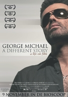 George Michael: A Different Story - Dutch poster (xs thumbnail)