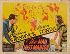 The Mad Miss Manton - Movie Poster (xs thumbnail)