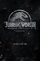 Jurassic World: Fallen Kingdom - Hungarian Movie Poster (xs thumbnail)
