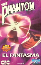 The Phantom - Argentinian VHS movie cover (xs thumbnail)