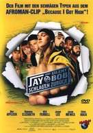 Jay And Silent Bob Strike Back - German DVD movie cover (xs thumbnail)