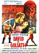 David e Golia - French Movie Poster (xs thumbnail)