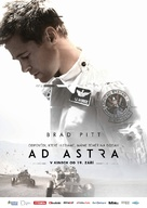 Ad Astra - Czech Movie Poster (xs thumbnail)