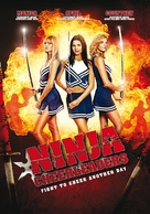 Ninja Cheerleaders - Danish Movie Poster (xs thumbnail)