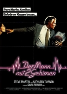 The Man with Two Brains - German Movie Poster (xs thumbnail)