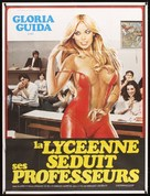 La liceale seduce i professori - French Movie Poster (xs thumbnail)