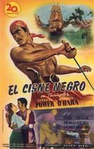 The Black Swan - Spanish Movie Poster (xs thumbnail)
