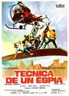 Tecnica di una spia - Spanish Movie Poster (xs thumbnail)