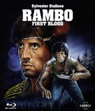 First Blood - German Movie Cover (xs thumbnail)