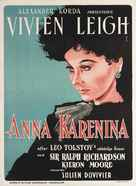 Anna Karenina - Danish Movie Poster (xs thumbnail)