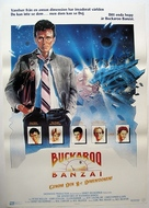 The Adventures of Buckaroo Banzai Across the 8th Dimension - Swedish Movie Poster (xs thumbnail)